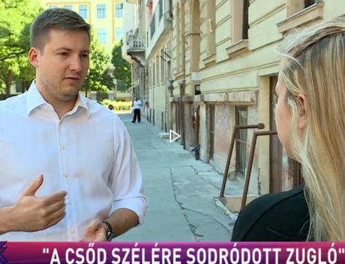 """""""A CSŐD SZÉLÉRE SODRÓDOTT ZUGLÓ"""""""