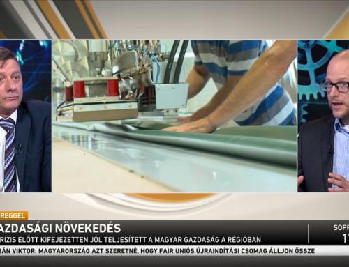 Sebestyén Géza: Magyarország mai felkészültsége és válságállósága össze sem hasonlítható a 2008-as állapotokkal – Alapítványunk kutatási igazgatója az M1 Ma reggel műsorában 2020.06.12-én