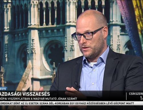 Sebestyén Géza: Magyarország sikeresen kezelte a koronavírus egészségügyi és gazdasági hatásait is – M1 Ma este, 2020.08.19