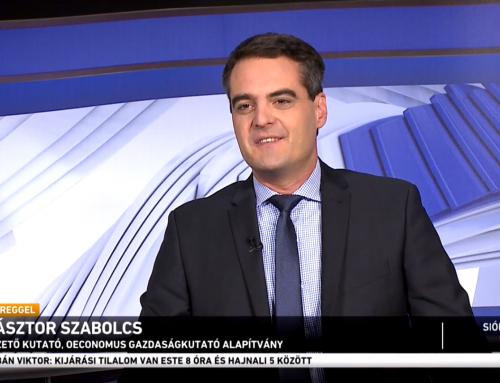 Családvédelmi intézkedésekről beszélt az M1 Ma Reggel című műsorában Pásztor Szabolcs