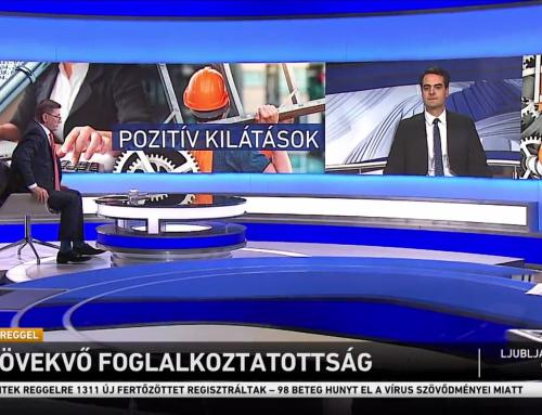 Növekvő foglalkoztatottságról beszélt Pásztor Szabolcs az M1 Ma Reggel adásában január 23-án.
