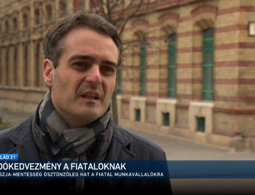 A fiatalok adókedvezményéről beszélt Pásztor Szabolcs az M1 Család című műsorában március 28-án