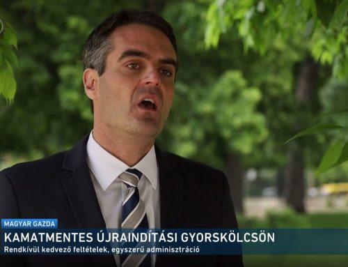 A gazdaság újraindításáról beszélt Pásztor Szabolcs az M1 Magyar Gazda 2021. június 7-ei adásában.