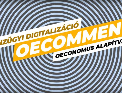 Pénzügyi digitalizáció – OECOMMENT