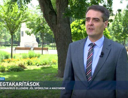 A magyar háztartások növekvő megtakarításairól beszélt Pásztor Szabolcs az M1 Summa magazin 2021. július 31-ei adásában.
