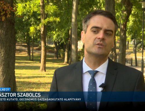 A SZJA visszatérítésről beszélt Pásztor Szabolcs az M1 Család 21 műsorában 2021. október 10-én.