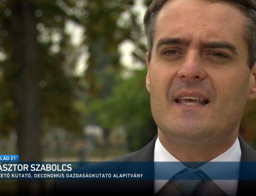 A hitelmoratóriumról beszélt Pásztor Szabolcs az M1 Család21 2021. október 3-ai adásában.